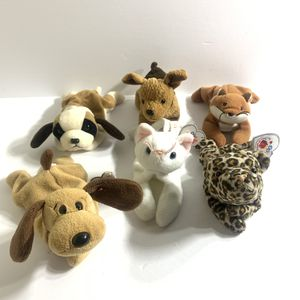 Ty Beanie Babies Lot of 6 (Read Desc) for Sale in San Leandro, CA