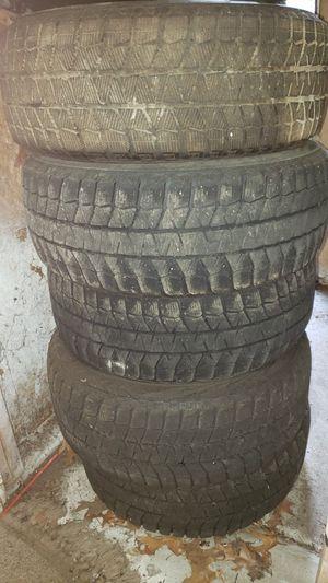 5 Bridge stone Blizzack snow tires 215/55/r16 for Sale in Grand Rapids, MI