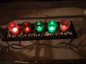 Free color change candles holder for Sale in Kent, WA