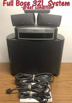 Bose Home Theater Media Center 321 Series for Sale in Aurora, CO