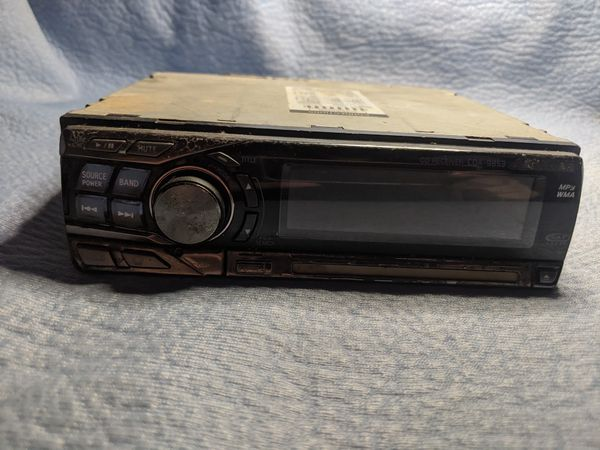 CD RECEIVER CDA-9853 Alpine Car Stereo