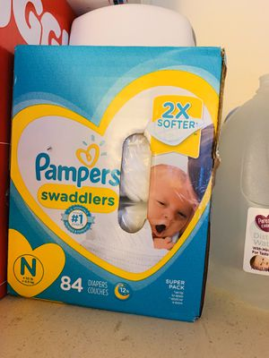 Pampers swaddlers 84count for Sale in Riverside, CA