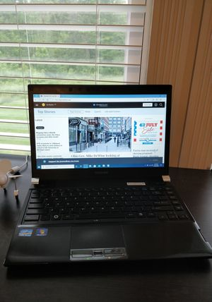 "13.3"" Toshiba Laptop Notebook with Docking Station Intel i5 8Gb Ram SSD for Sale in Walton Hills, OH"