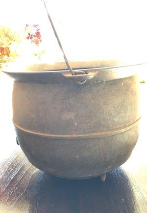 Wagner arc logo 1891-1910 vintage cast iron cauldron for Sale for sale  Wildomar, CA