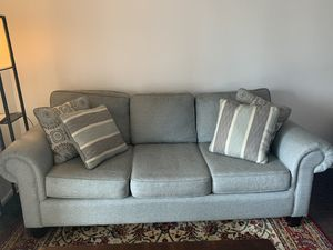 Sofa with protection guard for Sale in Pompano Beach, FL