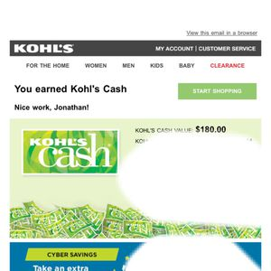 Kohl's Cash for Sale in Los Angeles, CA