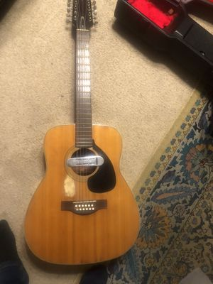 Vintage 1969 Yamaha red label FG 230 with the DeArmand pick up Valuum for Sale in NEW PRT RCHY, FL