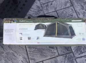 Wenzel Zephyr Screen House Black Mouse Pad 13 ft x 9 ft 2 Doors for Sale in Fort Worth, TX