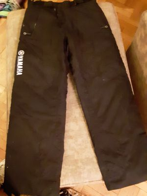 Yamaha snowmobile winter pants M for Sale in Dedham, MA