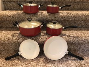 Ceramic Cookware Set for Sale in Gig Harbor, WA
