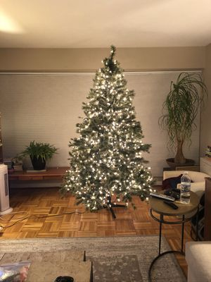 7.5 ft artificial christmas tree for Sale in Washington, DC