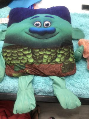 2 pillows, 1 trolls and 1 puppy for Sale in Las Vegas, NV