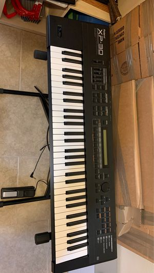 Roland XP-30 Keyboard, Stand, Foot-pedal and music stand. for Sale in Phoenix, AZ