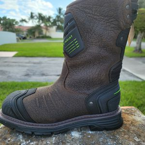 Mens ARIAT Catalyst Vx H2O Composite Toe Leather Work Boots SIZE 8 for Sale in Miami, FL