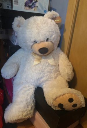 White stuffed bear for Sale in Chicago, IL