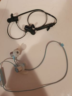 JBL Reflect Mini 2 Wireless Sweatproof In-Ear Sport Headphones , and atcoin wireless headset. for Sale in Camden, NJ