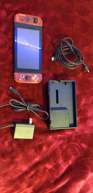 Nintendo Switch Custom Clear Red Joy Cons NEW (FULL SYSTEM) (32GB) for Sale in Yorba Linda, CA