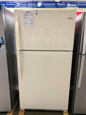 ..!New!! whirlpool bisque top freezer refrigerator 🌉 for Sale in Chandler, AZ