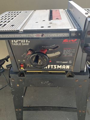 """10 """"Craftsman table saw for Sale in Long Beach, CA"""