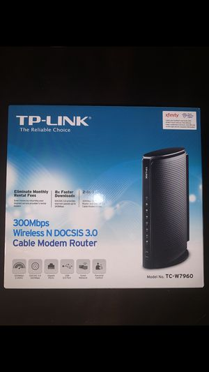 TP Link Cable Modem Router for Sale in Woodburn, OR