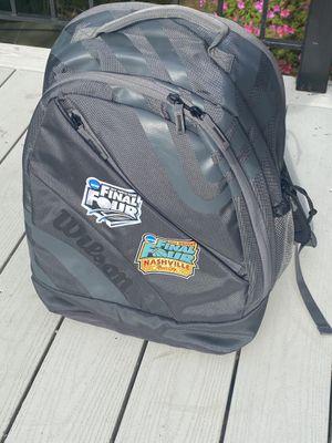 Like new Wilson NCAA final 4 gear backpack for Sale in Crownsville, MD