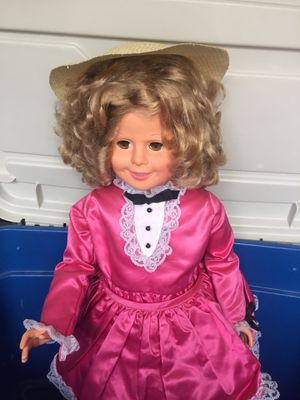 "Shirley Temple 36"" Vinyl Doll with Certificate of Authenticity for Sale in Watson, IN"