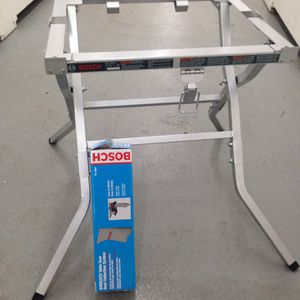 Bosch Table Saw Stand And Dust Bag NEW! for Sale in Hallandale Beach, FL