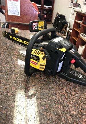 McCulloch chainsaw for Sale in Austin, TX