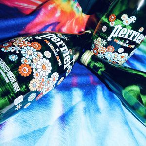 Perrier X Murakami Glass Bottles for Sale in Hammonton, NJ