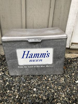 Old cooler . Hamms for Sale in Leavenworth, WA