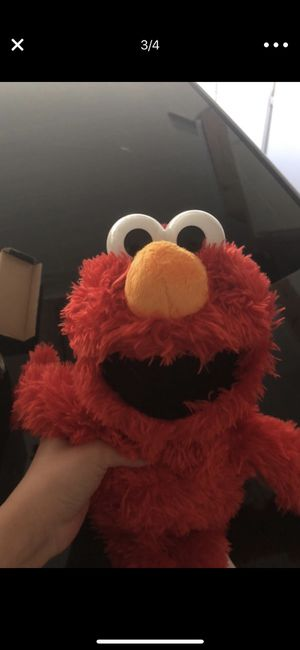 Elmo stuffed character for Sale in Poway, CA