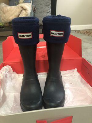Hunter Rain Boots, Size Girls 4 for Sale in Jenkintown, PA
