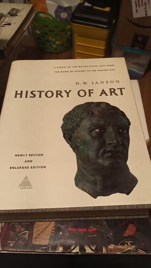History of Art by HW Hanson Hardbound collector book for Sale in Fresno, CA