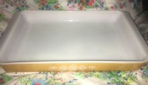 Vintage Pyrex Lasagna Pan Butterfly Gold for Sale in Lowell, IN