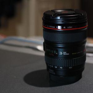 Canon L 24-105mm Lens for Sale in Huntington Beach, CA