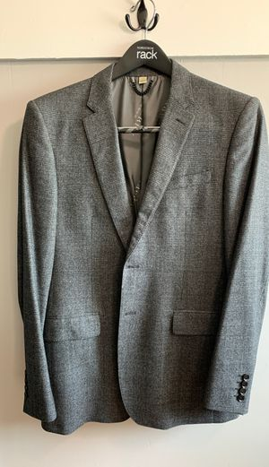 Burberry Dark Grey Plaid Suit (Jacket/Pants) for Sale in Clovis, CA