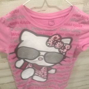 Hello Kitty Girl's Pink Top Size 5/6 for Sale in Cleveland, TX