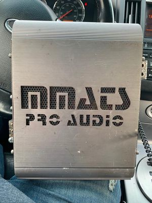 Mmats pro audio amp for Sale in Cranston, RI