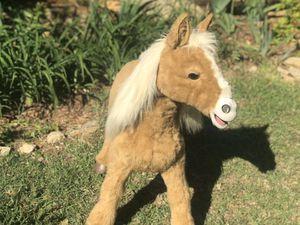 Hasbro pony life size Furreal horse animatronic motion detection.Interactive for Sale in Douglasville, GA
