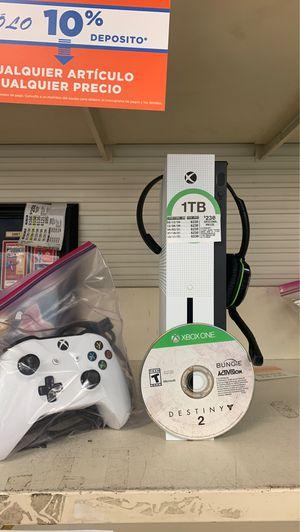 Xbox One S 1tb w/Destiny 2 headset for Sale in Brandon, FL