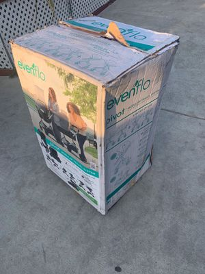 Evenflo pivot travel system for Sale in San Bernardino, CA