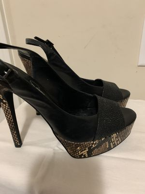Jessica Simpson Slingback Shoes, Size 8 1/2 M for Sale in Fayetteville, GA