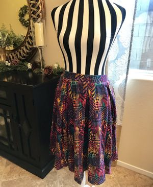 BRAND New With Tag ONLY $20 Adorable LulaRoe Madison Skirt Size Med for Sale in Las Vegas, NV