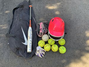 Youth girls softball equipment for Sale in Freehold, NJ