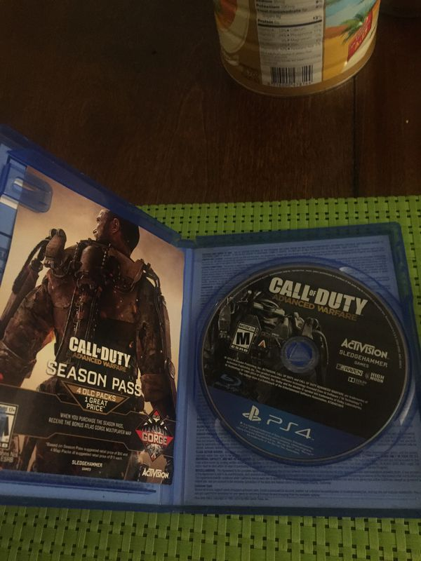 PS4: Call Of Duty Advance Warfare And Beat Red Edition