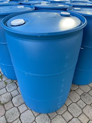 Barrels to hold water for Sale in West Palm Beach, FL