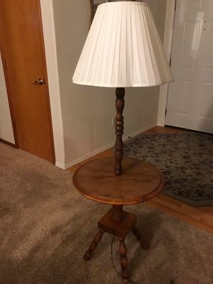 Unique table lamp for Sale in BETHEL, WA
