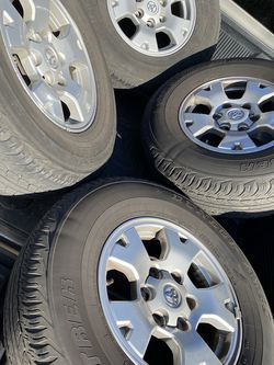 Toyota Tacoma 2012 Wheels With Sensors Good Conditions for Sale in Fresno,  CA