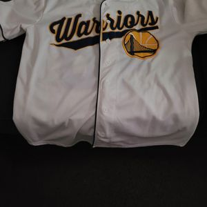 Golden St Warriors Hoodie And Baseball Jersey for Sale in Lewisville, TX