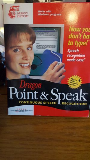 Point n speak Windows software. for Sale in Framingham, MA